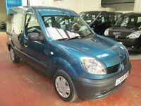 08 RENAULT KANGOO WHEELCHAIR ADAPTED 50 + ADAPTED VEHICLES IN STOCK