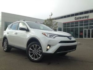 2018 Toyota RAV4 HYBRID Limited 4dr All-wheel Drive Push Button