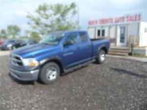 2011 Ram 1500 ST 4X4 QUAD CAB //// CERTIFIED!! ONE OWNER TRUCK!!