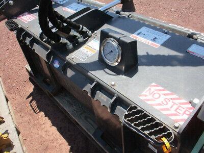 Bradco Mm60 Skidsteer Forestry Mulcher Low Usage