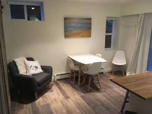 Large 1br + Den/Office - Fully Furnished. Great Location.