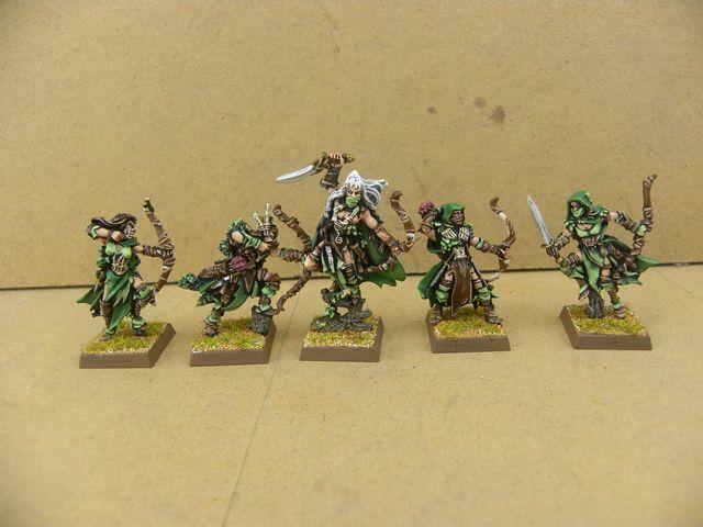 warhammer painted Waywatchers