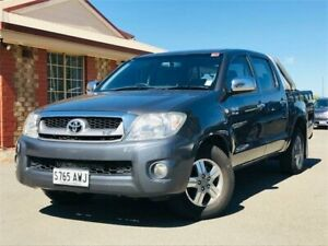 2009 Toyota Hilux GGN15R MY09 SR5 4x2 Grey 5 Speed Automatic Utility