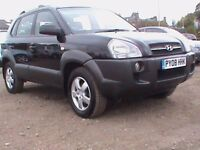 HYUNDAIN TUCSON GSI 4X5 BLACK MOT 30/06/2018 CLICK ON VIDEO LINK TO SEE MORE DETAILS OF THIS CAR