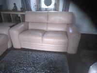 Sofa Italia leather sofa's