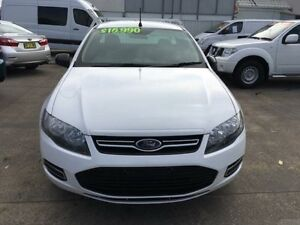 2012 Ford Falcon FG MkII White Auto Sports Mode 2D CAB CHASSIS Hamilton Newcastle Area Preview