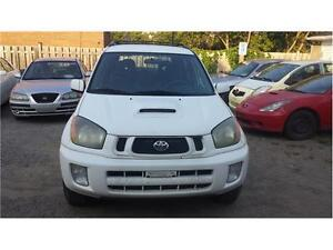 2003 TOYOTA RAV4 CHILI EDITION SAFETY ETESTED EXCELLENT CONDITI
