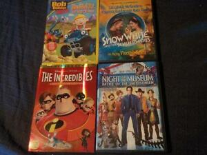 DVD's Set of Four Different