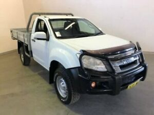 2016 Isuzu D-MAX MY15.5 SX White Manual CAB CHASSIS SINGLE CAB Westdale Tamworth City Preview
