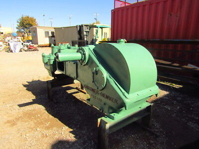 Used Gardner Denver Fxd Duplex Pump