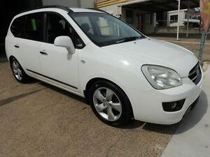 2008 Kia Rondo UN EX White 4 Speed Sports Automatic Wagon Yeerongpilly Brisbane South West Preview