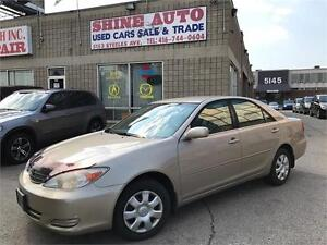 2004 Toyota Camry LE-4 CYLINDER- ONLY $3777!!!