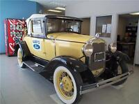 1931 Ford Model A Coupe Roadster ( Yellow and Black )