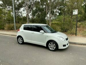 2009 Suzuki Swift RS415 100th Anniversary Hatchback 5dr Auto 4sp 1.5i White Automatic Hatchback Arncliffe Rockdale Area Preview