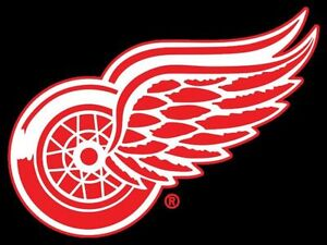Detroit Red Wings vs Montreal Tues. March 21 Sec 333 Aisle Seats