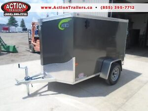 LIGHT WEIGHT CARGO TRAILER - 2017 NEO 5X8' - VERY EASY TO TOW London Ontario image 1