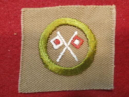 Square Merit Badge - Signaling