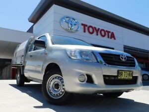 2012 Toyota Hilux GGN15R MY12 SR Xtra Cab 4x2 Silver 5 Speed Automatic Utility