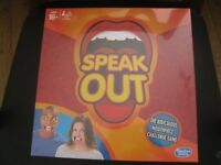 SPEAK OUT BOARD GAME BY HASBRO BNIB SEALED