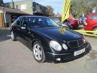 MERCEDES-BENZ E CLASS 3.2 E320 CDI AVANTGARDE 4d AUTO 204 BHP (black) 2004