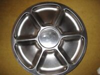 Quality Revolving Danish Stainless Steel Lazy Susan By Lundtoffte OFFERS WELCOME