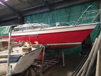 Boat for sale - Renovation project. Prospect 900, 28 ft, 6 berth boat for sale.