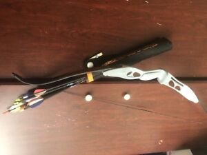 Bow and 15 arrows & quiver, Youth recurve- $45