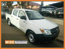 2005 Toyota Hilux GGN15R MY05 SR White 5 Speed Automatic Utility Granville Parramatta Area Preview