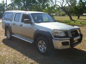 2010 Mazda BT-50 UNY0E4 DX 4x2 Silver 5 Speed Automatic Utility Winnellie Darwin City Preview