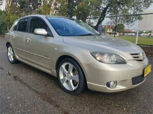 2005 Mazda 3 BK SP23 Silver 5 Speed Manual Hatchback Granville Parramatta Area Preview