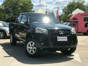 2012 Great Wall V200 K2 MY12 Black 6 Speed Manual Utility South Toowoomba Toowoomba City Preview