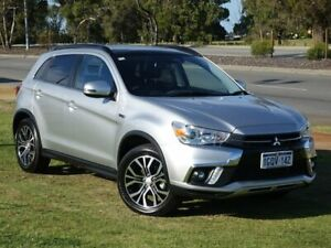 2018 Mitsubishi ASX XC MY18 XLS 2WD Silver 6 Speed Constant Variable Wagon Wangara Wanneroo Area Preview