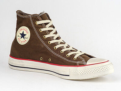 CONVERSE SCHUHE CHUCKS CT ALL STAR HI WASHED TEX MOREL 139908C BRAUN USED LOOK online kaufen