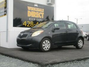 2008 Toyota Yaris LE 5-SPEED 4-DOOR HATCHBACK