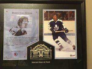 Darryl Sittler HOF Framed Matted Collection