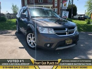2015 Dodge Journey Limited|7Pass|$55Wk|BigDisplay|Alloys|Aux|Blu
