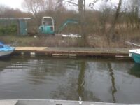 Mooring Plot to Rent (£600pa) on Floating Jetty.