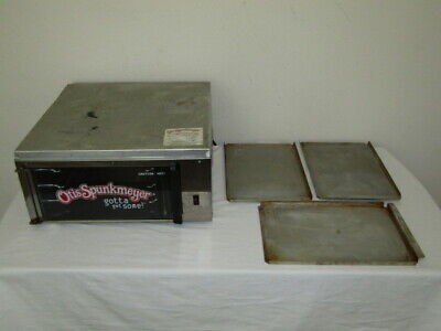 Commercial Convection Otis Spunkmeyer Cookie Oven W 3 Trays - Os-1 Model