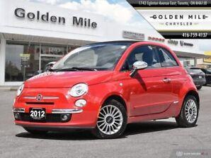 2012 Fiat 500 CONVERTIBLE NO ACCIDENTS!