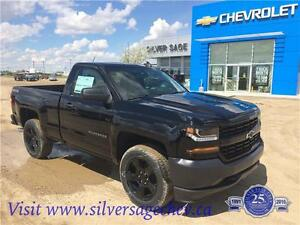 Brand New 2016 Chevy 1500 Reg Cab Blackout Edition 5.3L V8 4X4