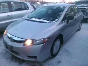 2010 Honda Civic Sdn automatic low kms! DX-G