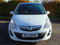 VAUXHALL CORSA 1.2 LIMITED EDITION 3d (white) 2012