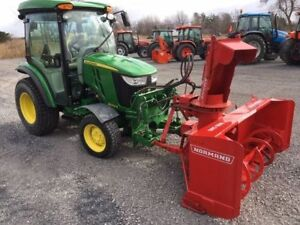 2014 John Deere 3046R SNOW REMOVAL SPECIAL .