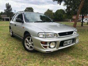 1999 Subaru Impreza N MY00 RX AWD Silver 5 Speed Manual Hatchback Somerton Park Holdfast Bay Preview
