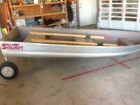 12 foot aluminum cartopper boat