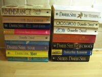 16 Danielle Steel Paperback books now reduced