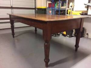 Antique Dining Table Northgate Port Adelaide Area Preview