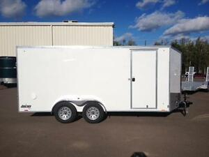 New 2017 Pace 7' x 16' Journey S.E. Enclosed Trailer
