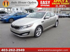 2013 Kia Optima EX Turbo+ leather pano roof