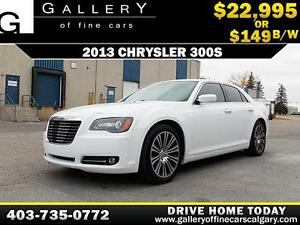 2013 Chrysler 300S w/Beats $149 bi-weekly APPLY NOW DRIVE NOW